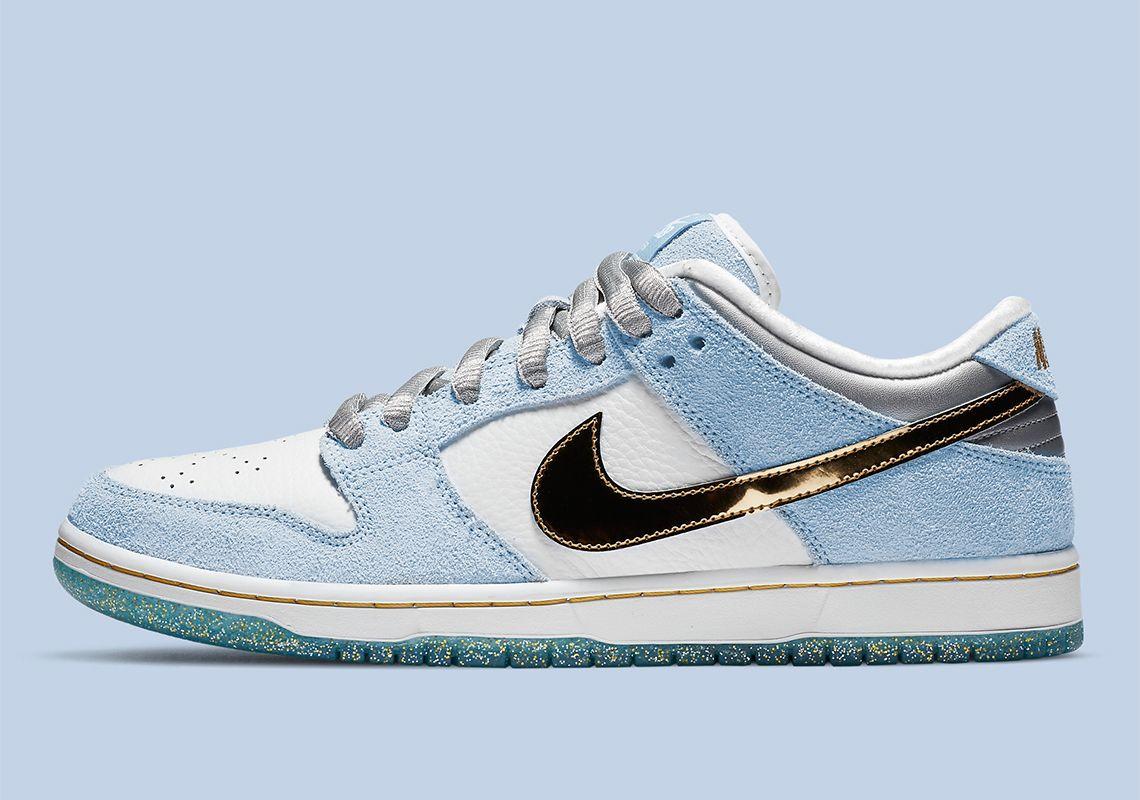 Sean Cliver Nike Sb Dunk Low Dc9936 100 Release Date Sneakernews Com Jordan Jordan 3 Tenis Nike