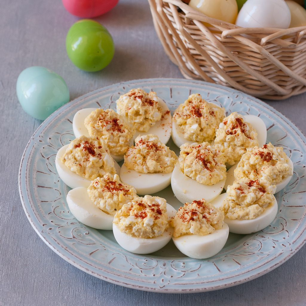 Easy Cottage Cheese Deviled Eggs | Recipe | Cottage Cheese, Devil And Egg