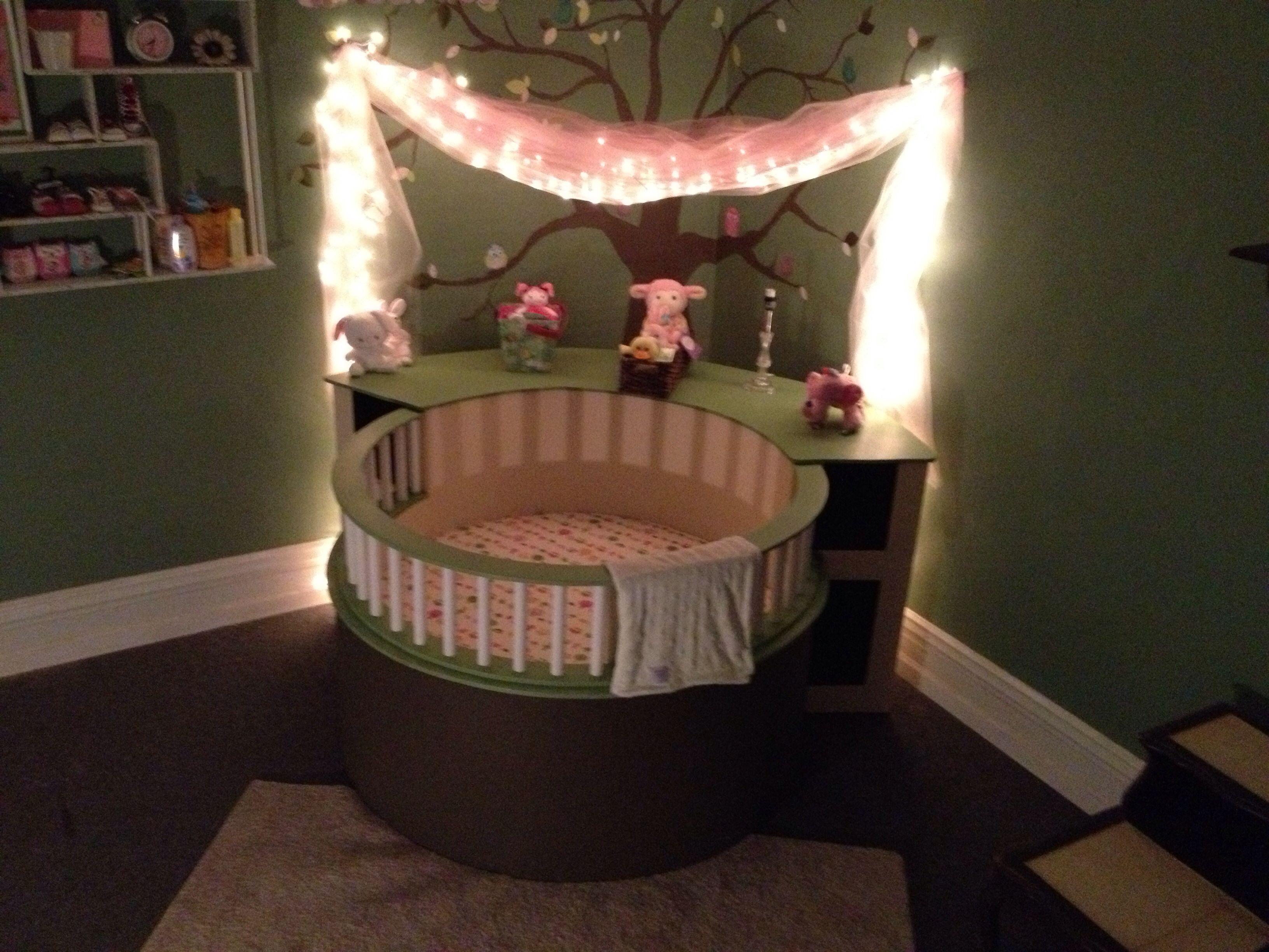 Baby Circle Crib Round Baby Cribs Expecting Baby Baby Furniture