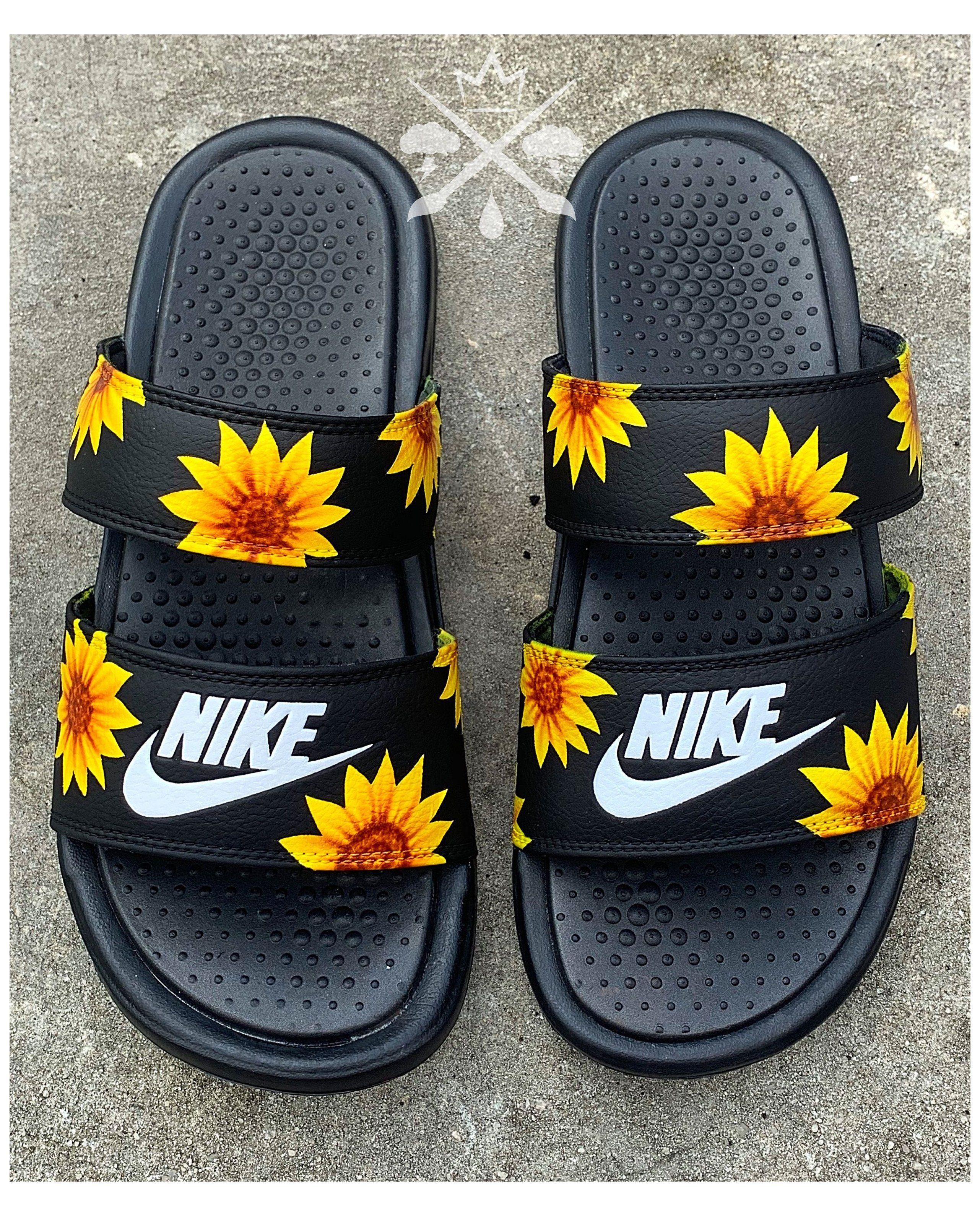 Sunflower Sandals | Womens Nike Black