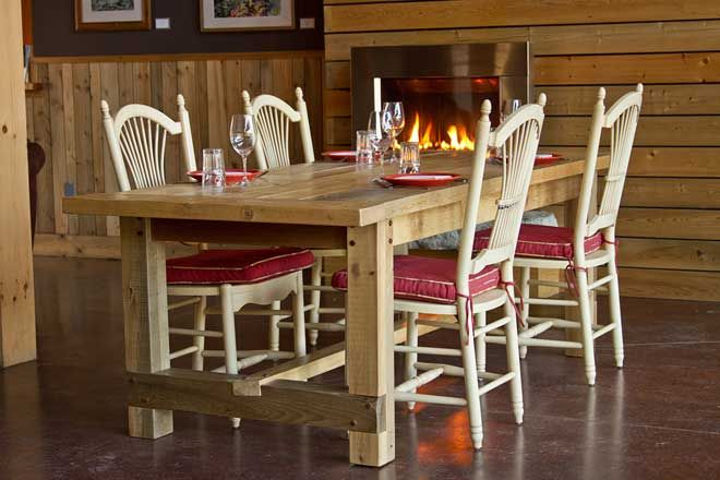 Reclaimed Wainscoting From Maine Heritage Timber Wood Furniture