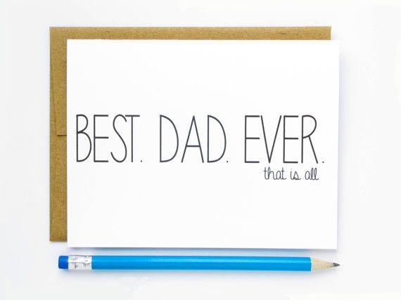 Fathers day dad birthday card best dad ever dad birthday fathers day card dad birthday card best dad ever hellafresh designs etsy bookmarktalkfo Images