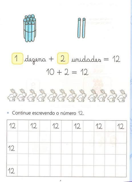 Exercicios De Sistema De Numeracao Decimal Do 10 Ao 20 Com
