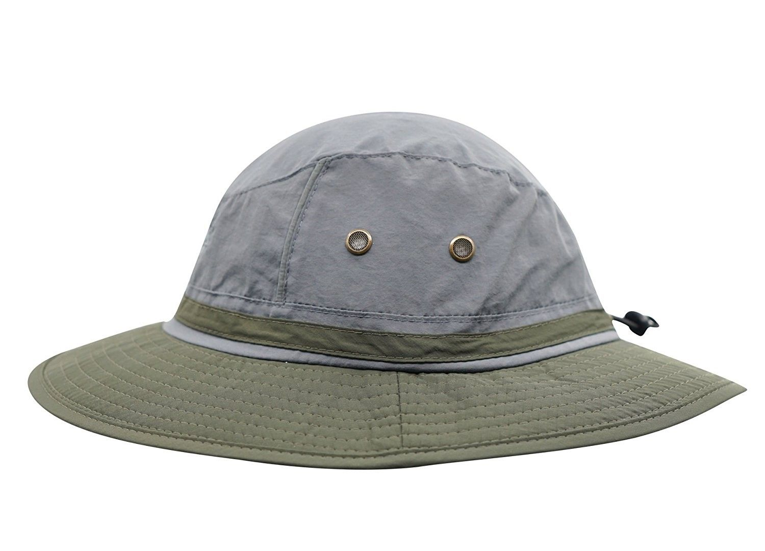 Outdoor boonie Fishing Bucket Hat Summer Colorblock Sun Hats Hunting ... 9e532edc13f4