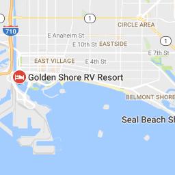 Golden Shore Rv Resort Long Beach Ca 4 Stars Seal Beach Belmont Shore Beach