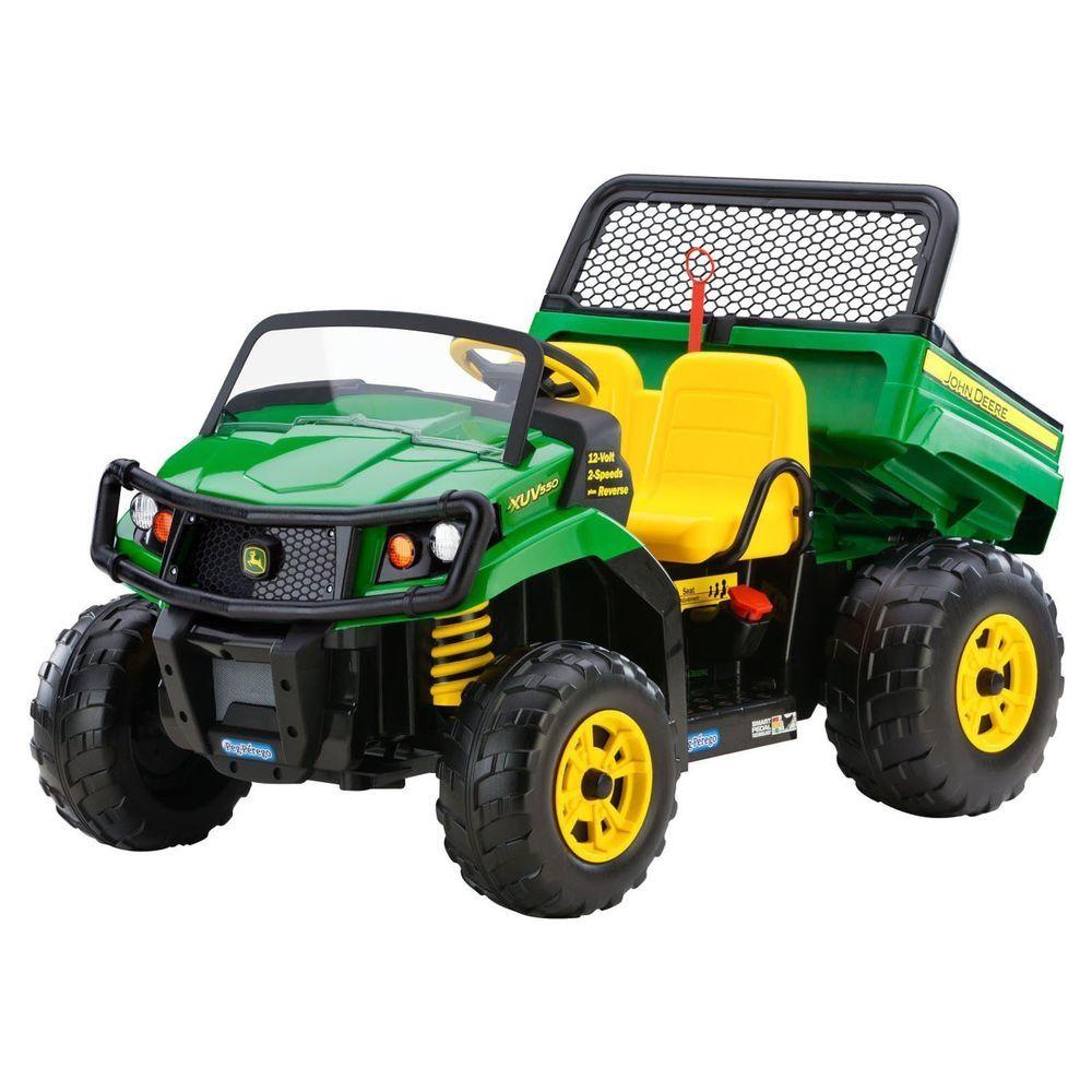 big wheel battery powered electric kids toy rider gator dump