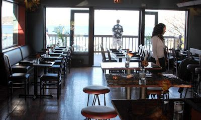 Look Right Out To The Water At Rumba Hampton Bays Longisland Hamptons Waterfront