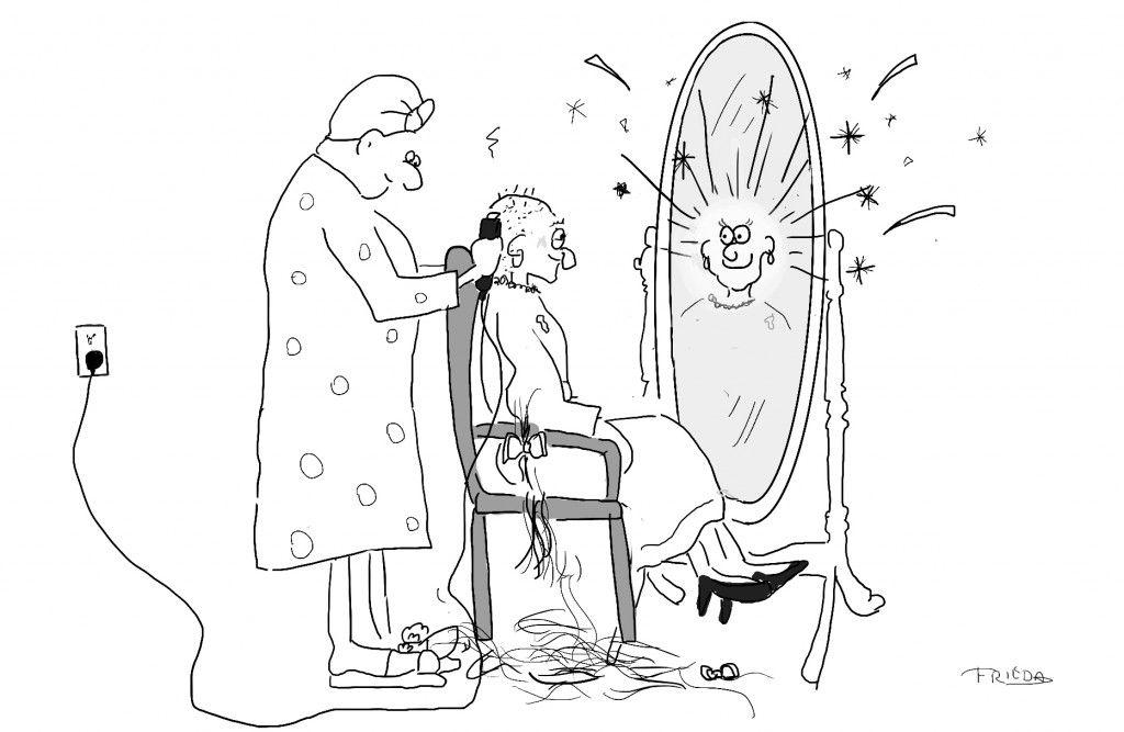 On women shaving all their hair