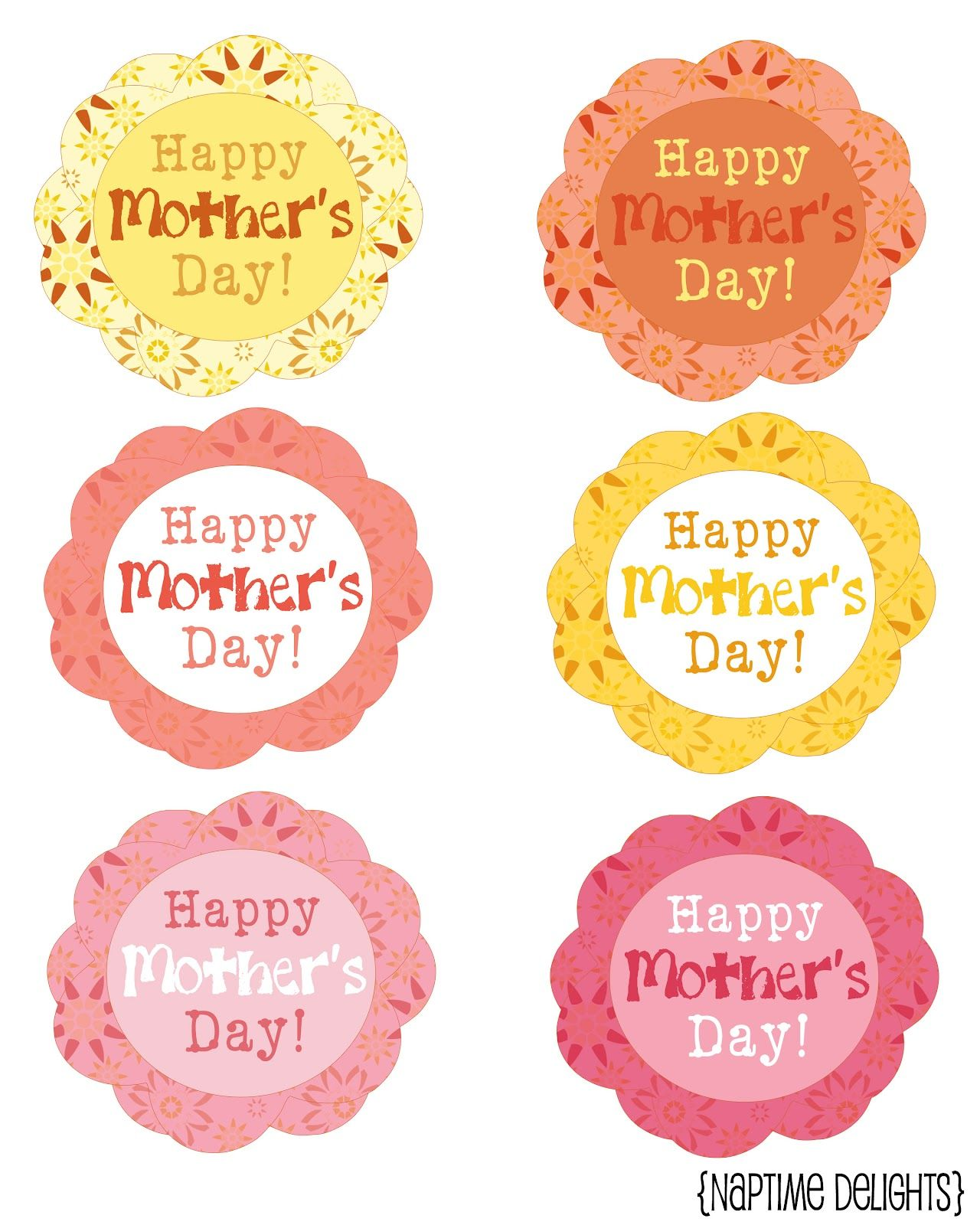 Motherus day gift tag for mom pinterest mothers gift tags and
