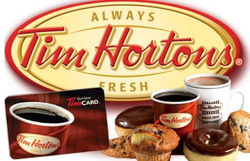 Carte Cadeau Tim Horton.2 Cartes Cadeaux Tim Hortons De 25 A Gagner Quebec