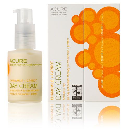 Day Cream | Acure  I wonder how this compares to my Olay Wrinkle Reducing Daily Cream. Update: Works well for nighttime! Smells pleasant. Available at Whole Foods.