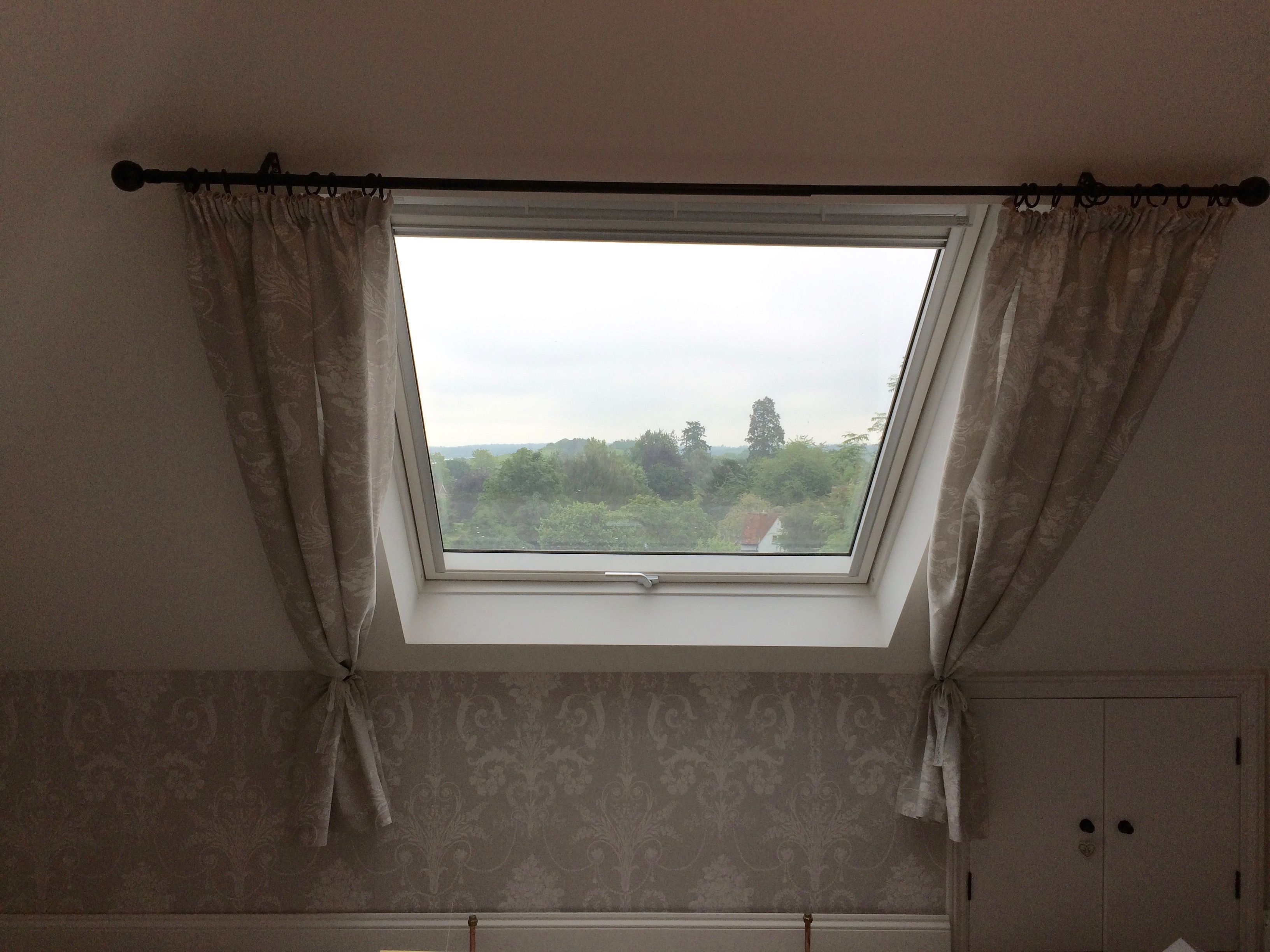 Curtains For Velux Window Made With Laura Ashley Josette