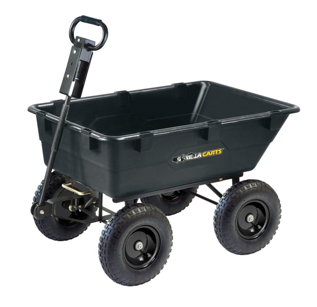 Utility Cart Lowes Dump Cart Garden Wagon Yard Cart