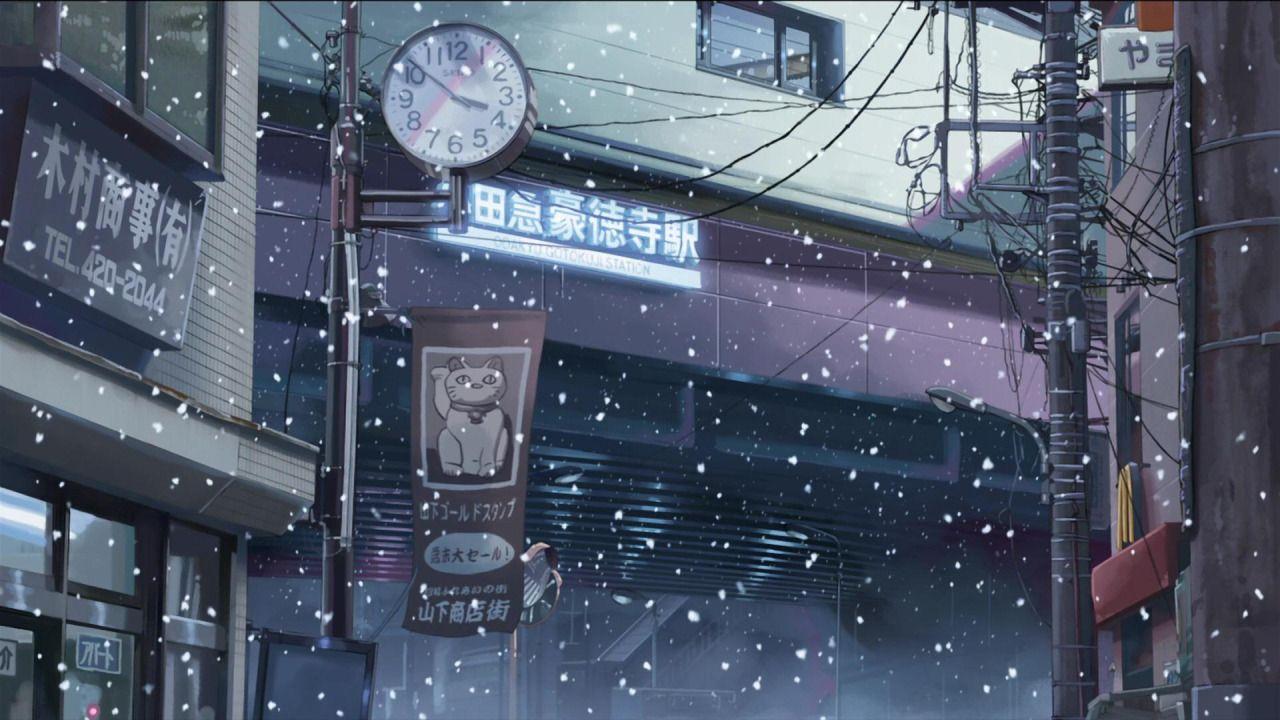 5 Centimeters Per Second. Directed by Makoto Shinkai