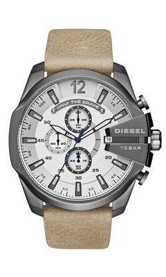4a00d743a1c Relógio Diesel DZ4359 0BN Prata Bege