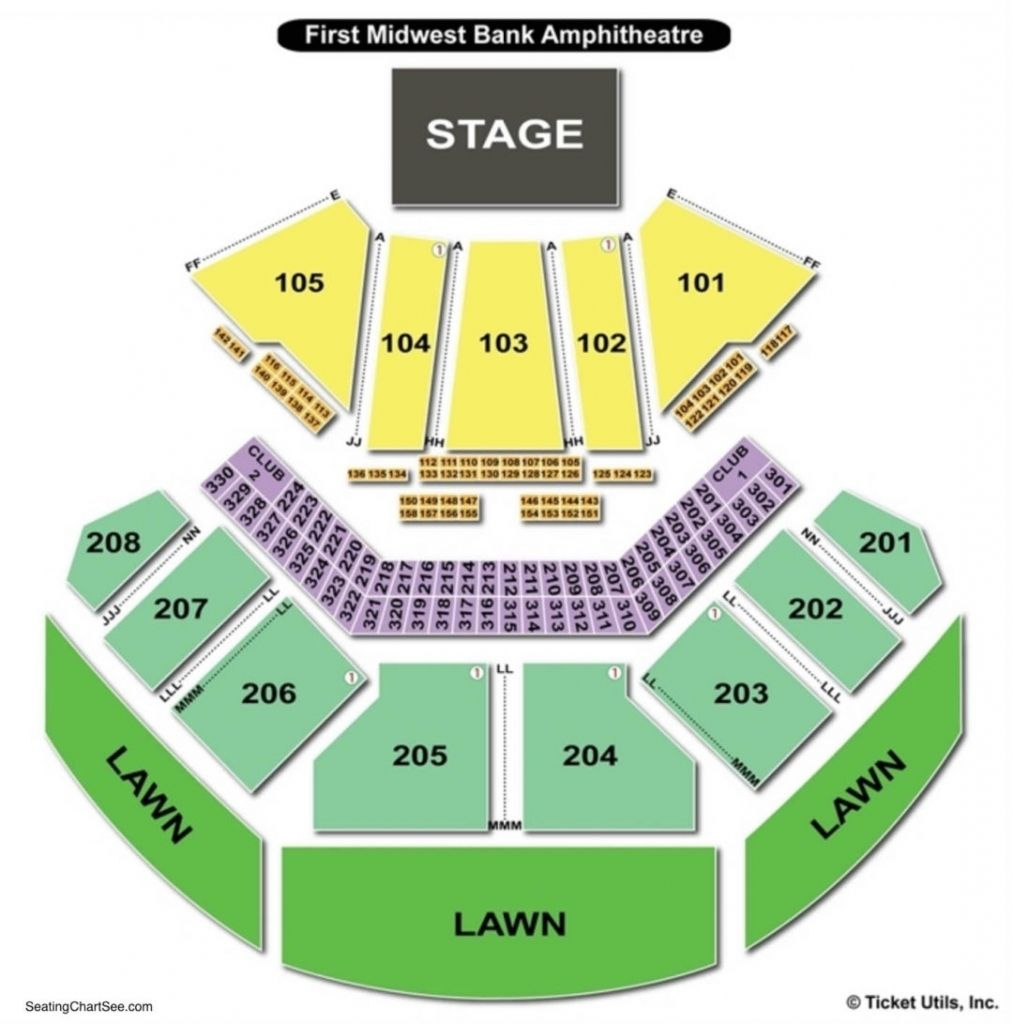 Hollywood Casino Amphitheatre Seating Chart Maryland Heights Mo Di 2020
