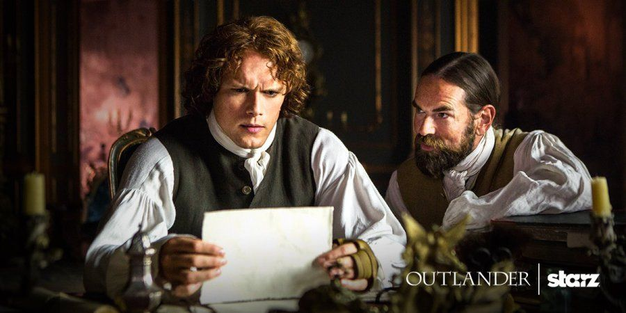 New Still of Sam Heughan and Duncan Lacroix from Outlander Season 2 Source