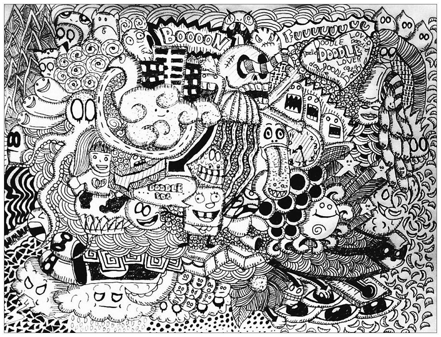 17 bästa bilder om Doodling / Doodles / Doodle art på Pinterest ...