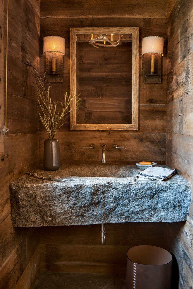 45 trendy and chic industrial bathroom vanity ideas in