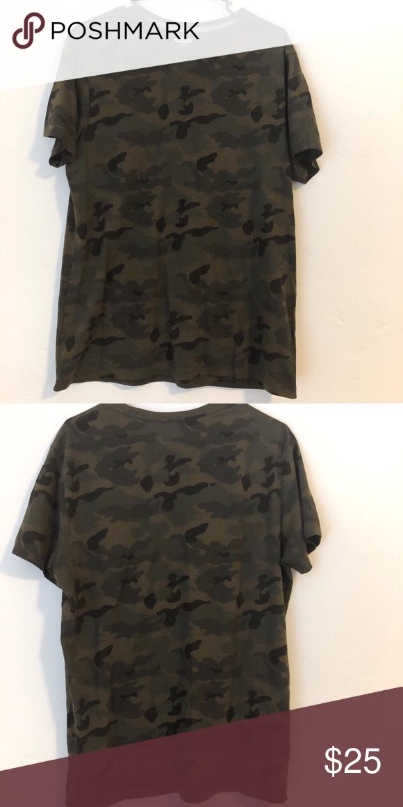 Men's Camo T- Shirt