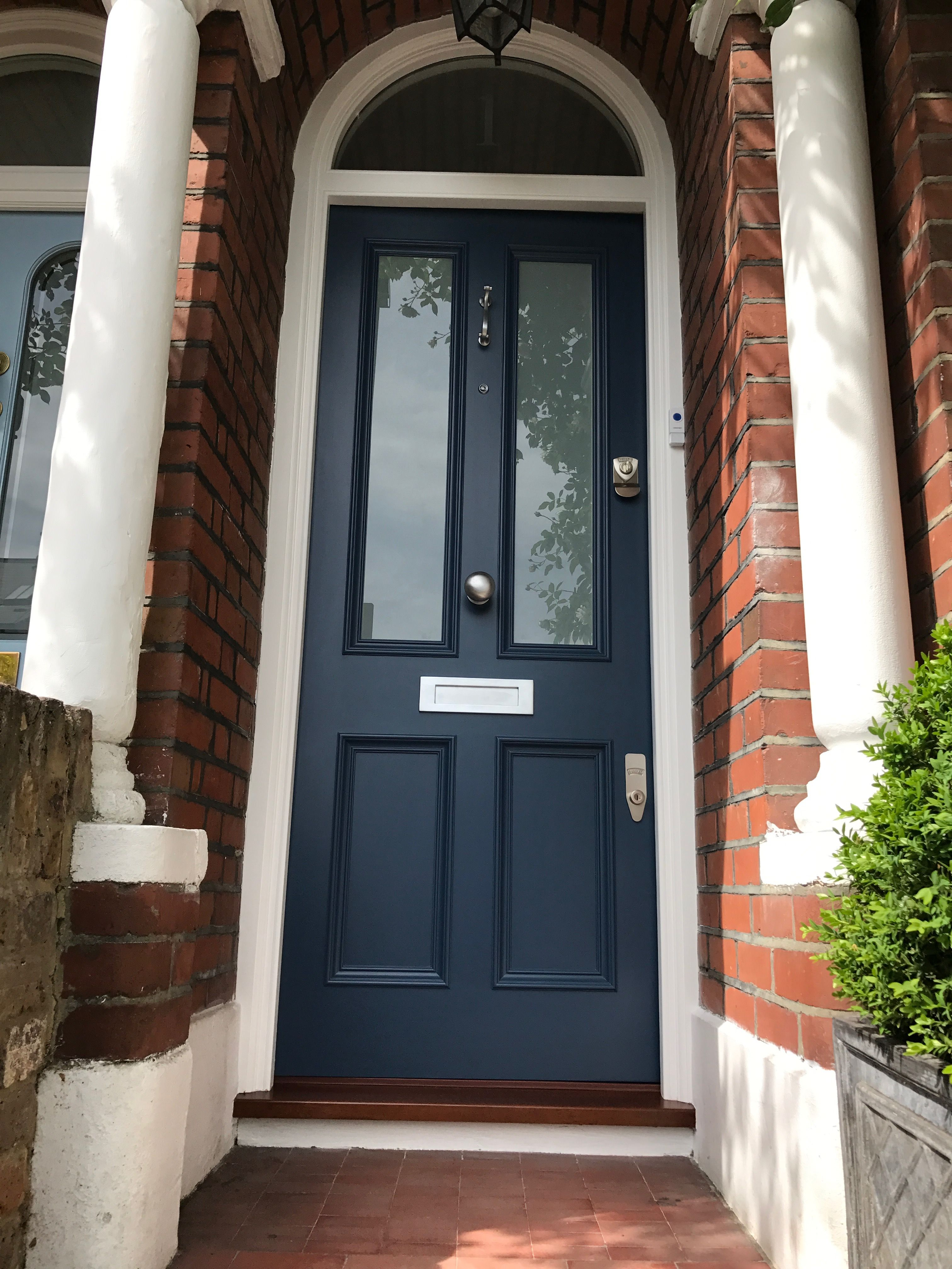 Beautiful Victorian Front Door With White Laminate Glass Victorian Front Doors Exterior Door Styles Beautiful Front Doors