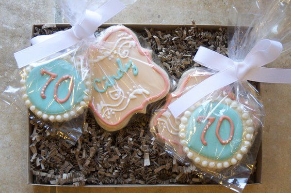 70th Birthday Party Favors