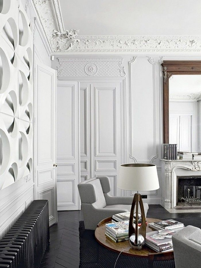 Effortless Chic Interiors With Modern French Style Modern French Interiors Parisian Interior Interior Design