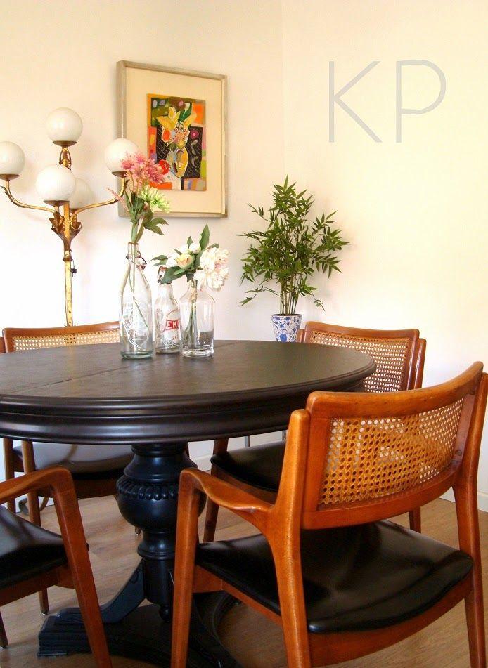Conjunto de 4 sillas danesas años 50  danish chairs decoracion ...