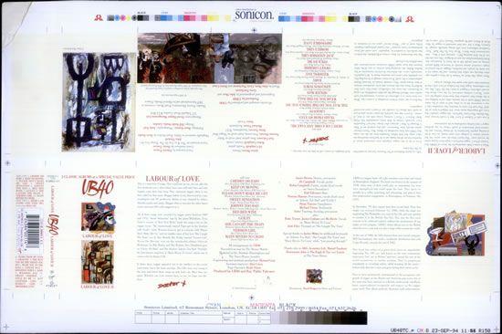 UB40 Labour Of Love / Labour Of Love II UK artwork | Music