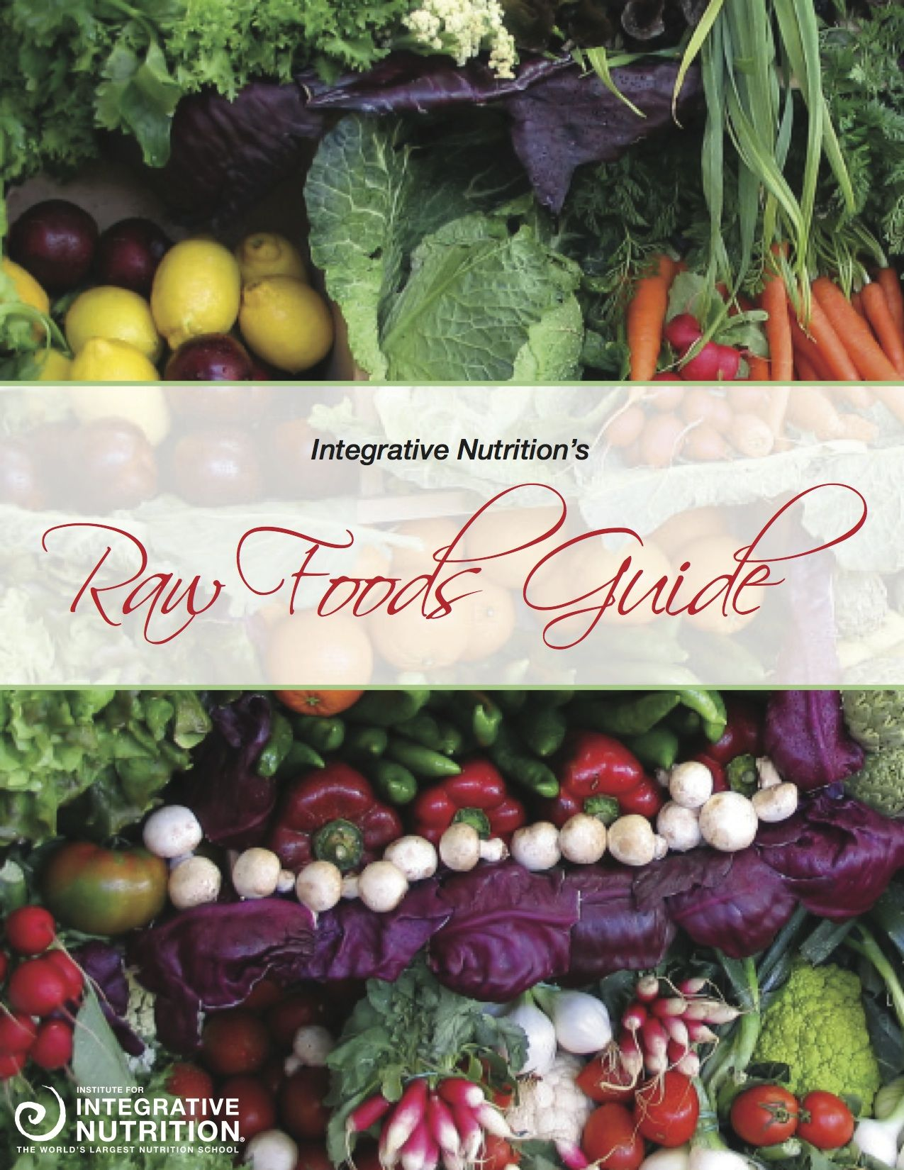 Stay cool this summer with raw foods institute for integrative institute for integrative nutrition has a great free raw food guide you should check out forumfinder Choice Image