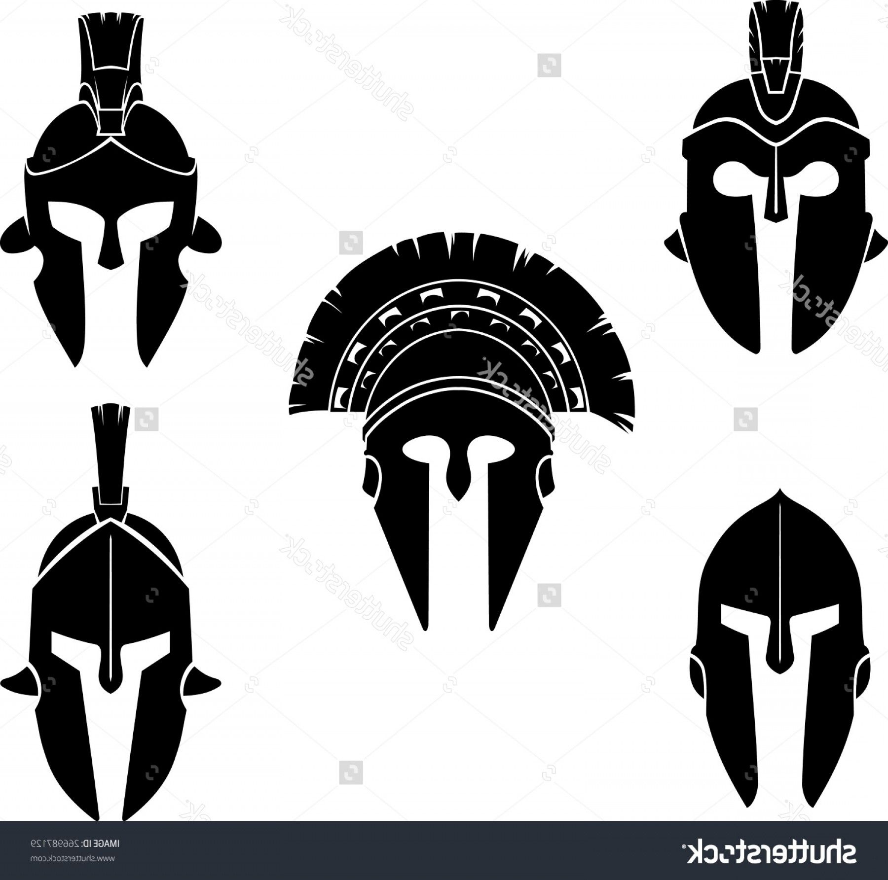 Excellent Spartan Vector Art Draw HD Spartan Helmet Clip