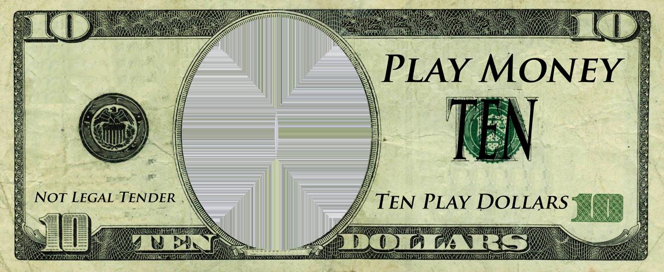 Dollar Bill Template Free