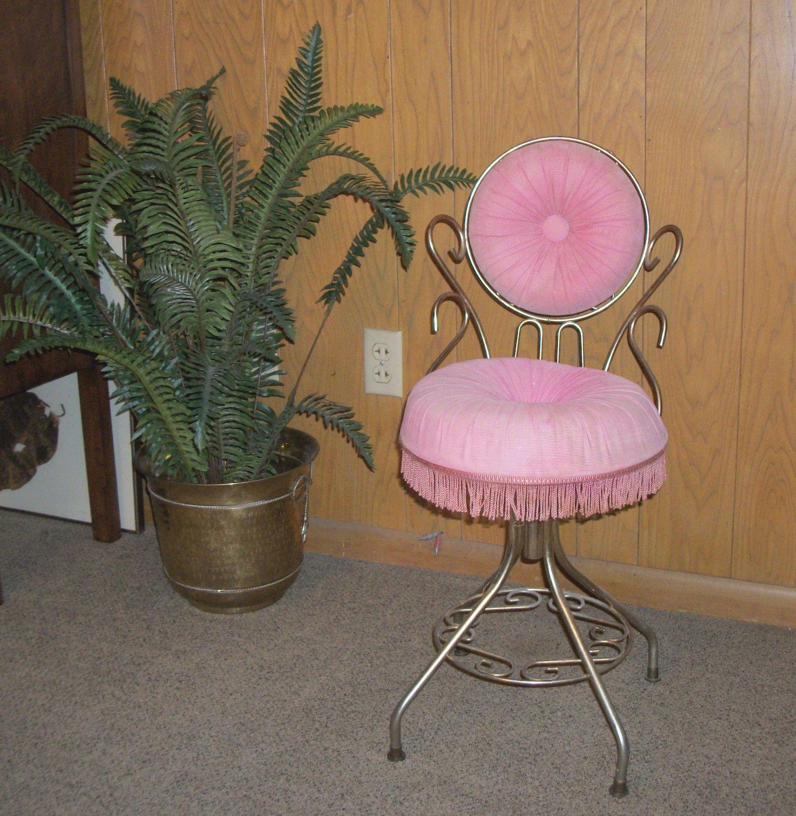 Swivel Vanity Chair VINTAGE VANITIES & BATH Pinterest