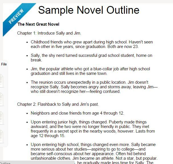 Image Result For Novel Outline  Story Resources