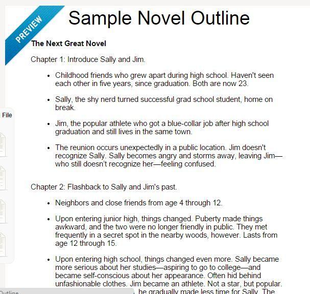 Image result for novel outline Story Resources Pinterest - story outline template