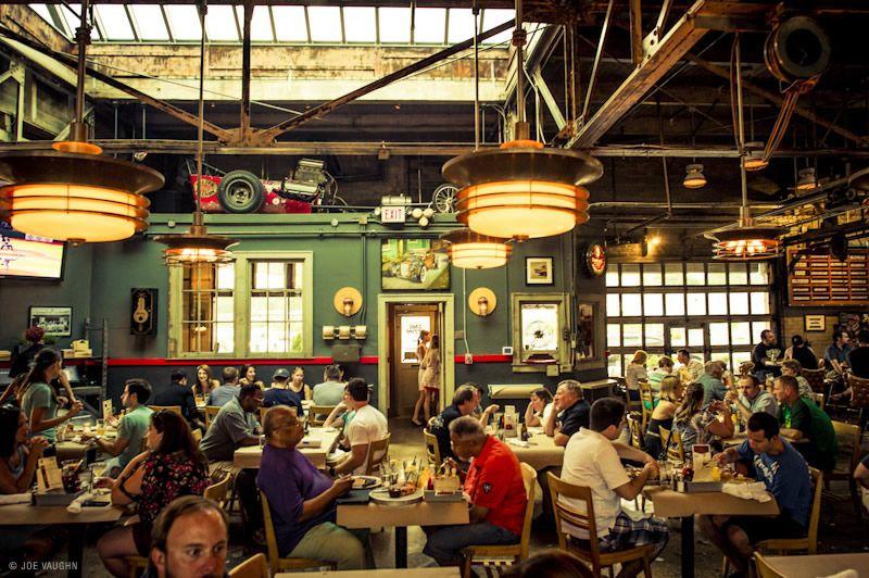 Tippling With Clark With Images Old Garage Vintage Restaurant Detroit Restaurants