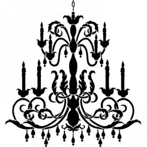 Simple chandelier stencil reusable stencil lg chandelier stencil simple chandelier stencil reusable stencil lg chandelier mozeypictures Images