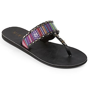 9c8cfa9e9 Mixit® Peruvian Fabric Thong Sandals - jcpenney