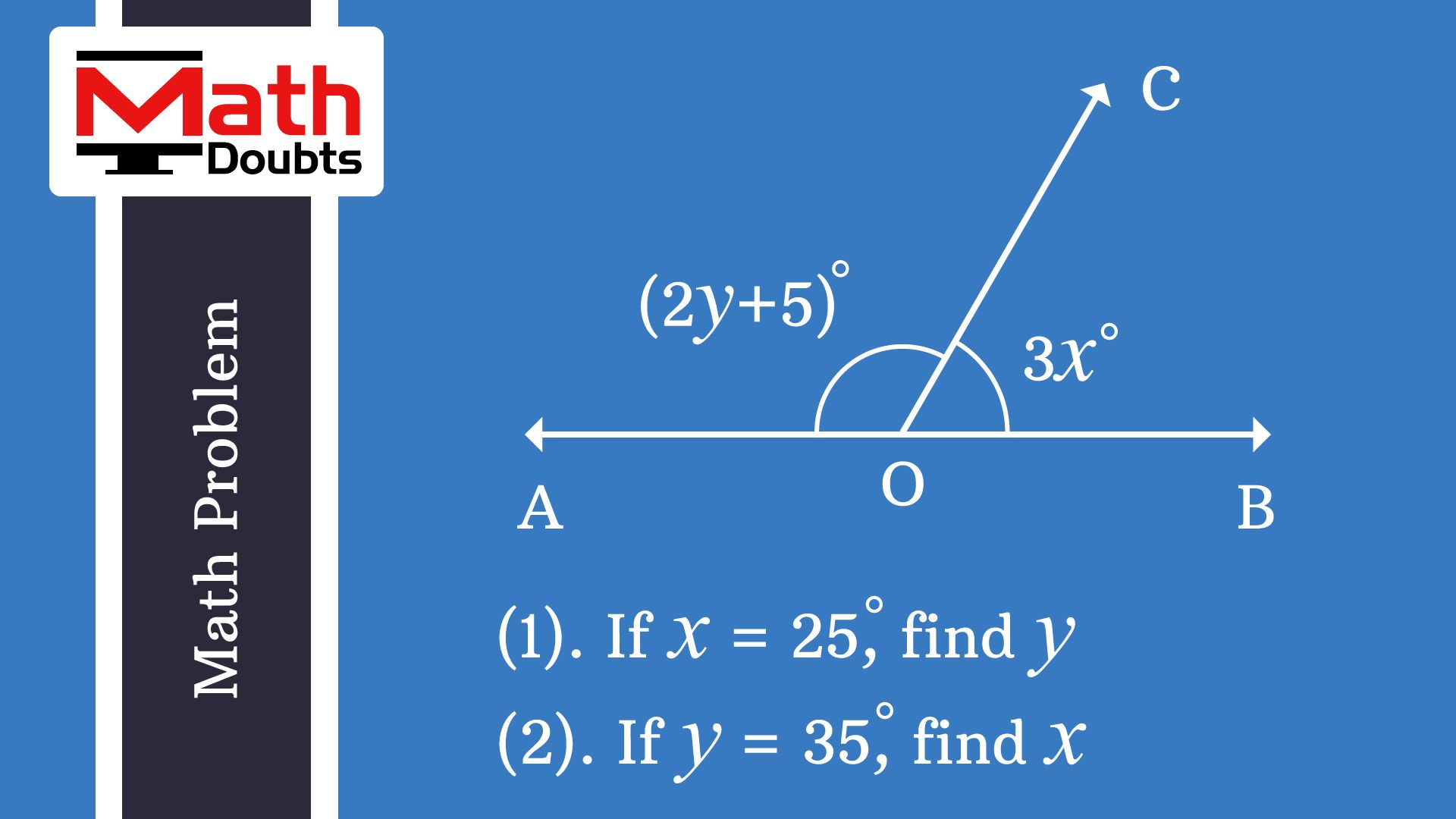 Learn solution of the geometry math problem in mathematics