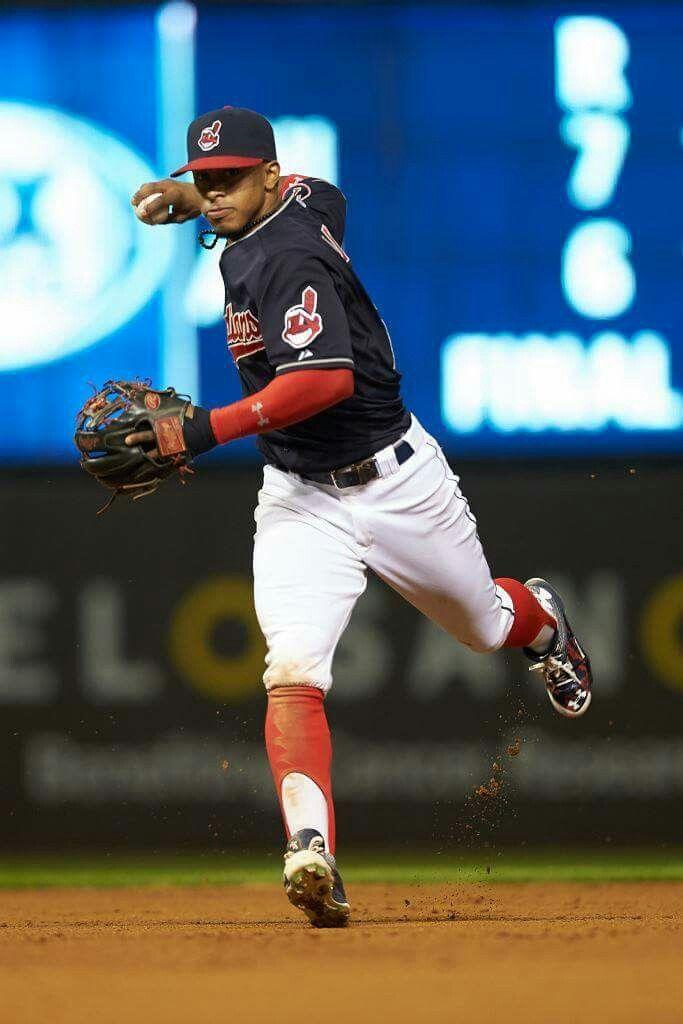Francisco Lindor Cleveland Indians Baseball Cleveland Indians Cleveland Baseball