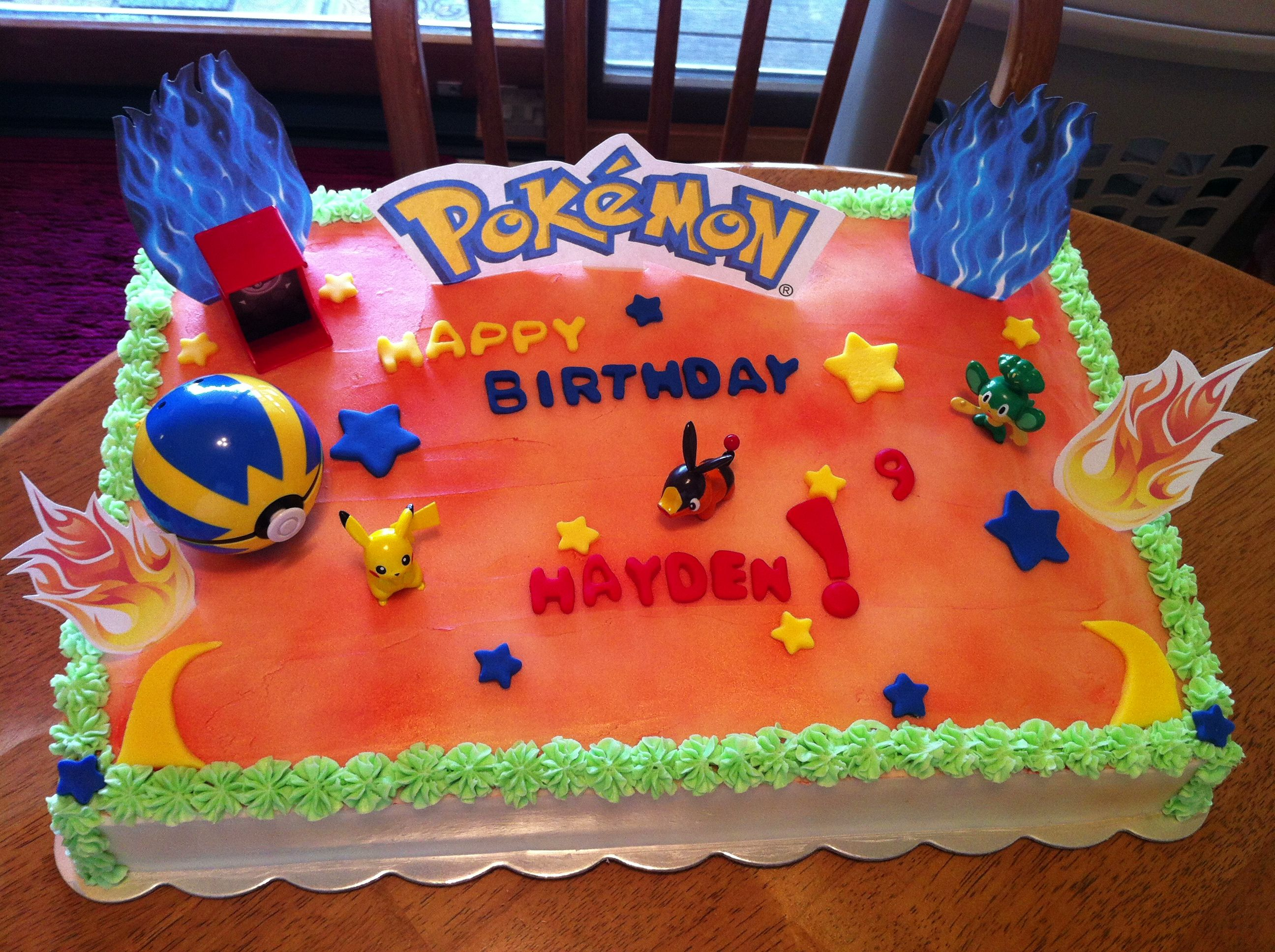 Pokemon Cookie Cake