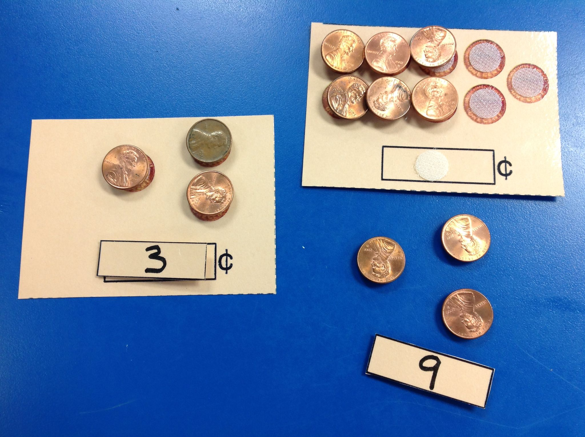 Add Braille To The Numbers And Velcro On The Coins