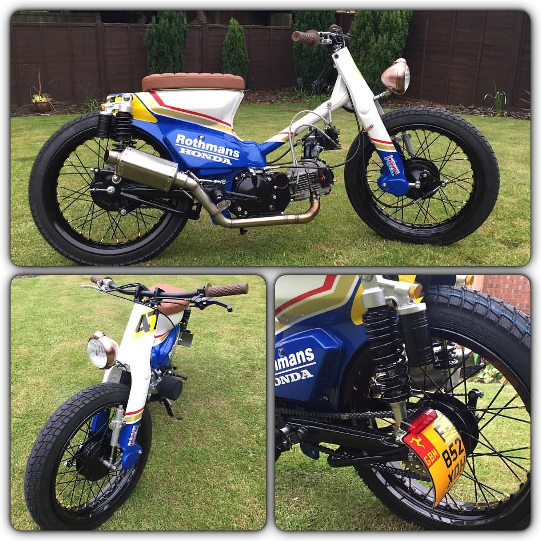 Wicked Rothmans Honda Streetcub See this Instagram photo by ...