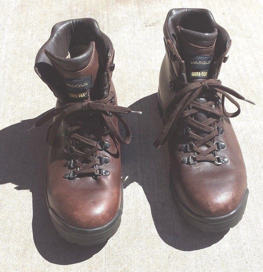 24da06d5e2b VASQUE Gore-Tex Vintage Men's Size 12 Leather Backpacking Boots ...