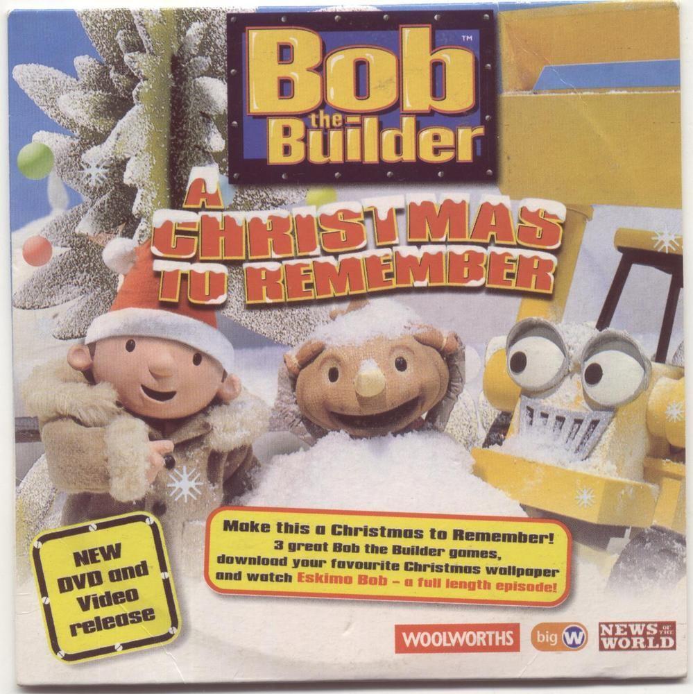 bob the builder eskimo bob promo pc cd rom 2003 a christmas to remember - Bob The Builder A Christmas To Remember