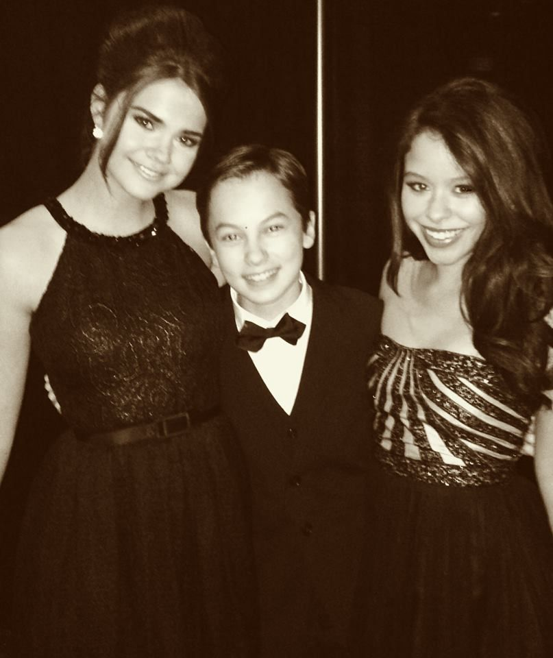 Maia Mitchell, Hayden Byerly and Cierra Ramirez<3