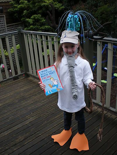 such a cute idea from dr seusss book i wish that i had dr seuss costumesadult costumeshalloween - Wish Halloween Costumes