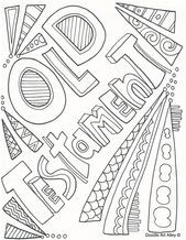 Old Testament And New Testament Coloring Pages And Many More On