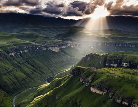 Drakensberg, South Africa.  Travel there with www.nomadtours.co.za