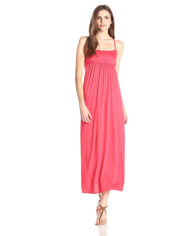Star Vixen Womens Sleeveless Empire-Waist Dress